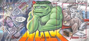 Hulk three card puzzle
