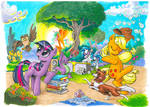 My Little Pony issue 1 Cover A and B