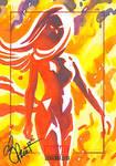 Jean Grey Phoenix Bronze sketch card
