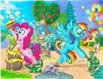 My Little Pony issue 1 Cover C and D