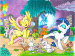 My Little Pony issue 1 Cover E and F