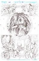 Queen Chrysalis Returns, Pencils by andypriceart