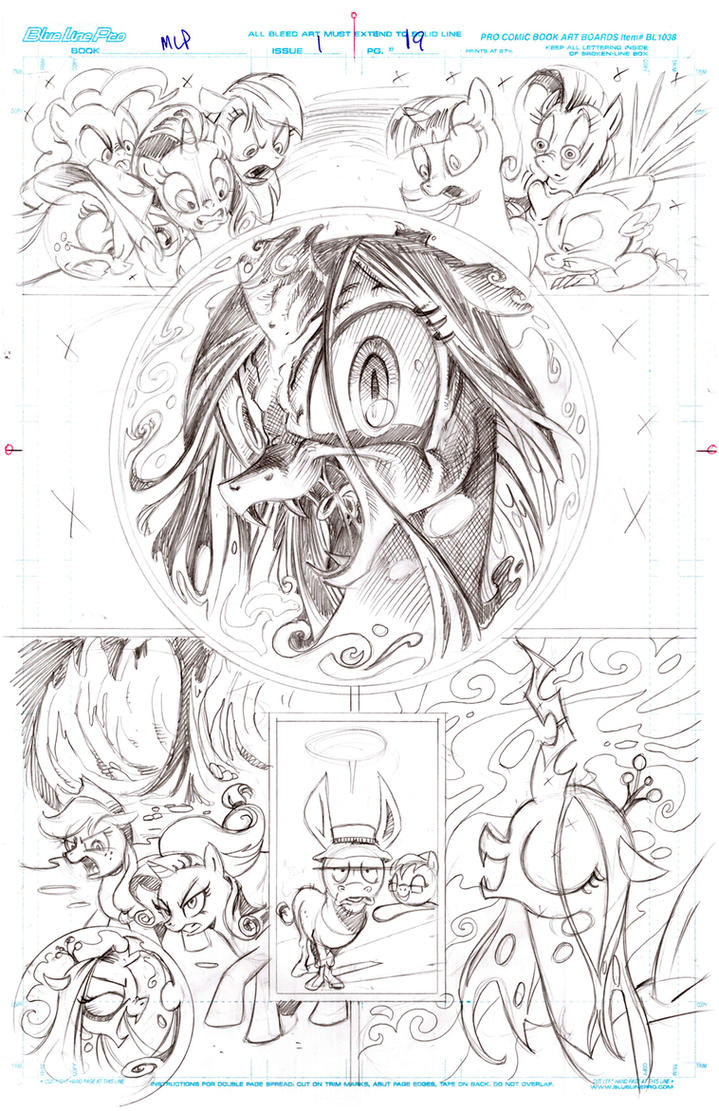 Queen chrysalis returns pencils by andypriceart on deviantart for Queen chrysalis coloring pages