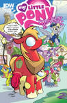 MLP issue 9 Big Mac and Applebloom