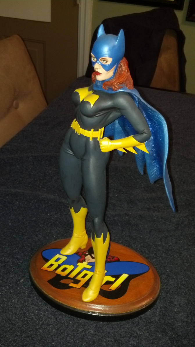 Batgirl modified model kit by andypriceart