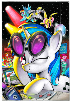 Vinyl Scratch San Diego Exclusive Cover art