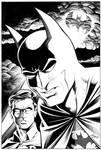 Batman and robin ink