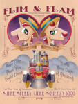 Flim and Flam from new MLP Poster Book