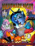NIGHTMARE NIGHT MLP Poster with Luna!