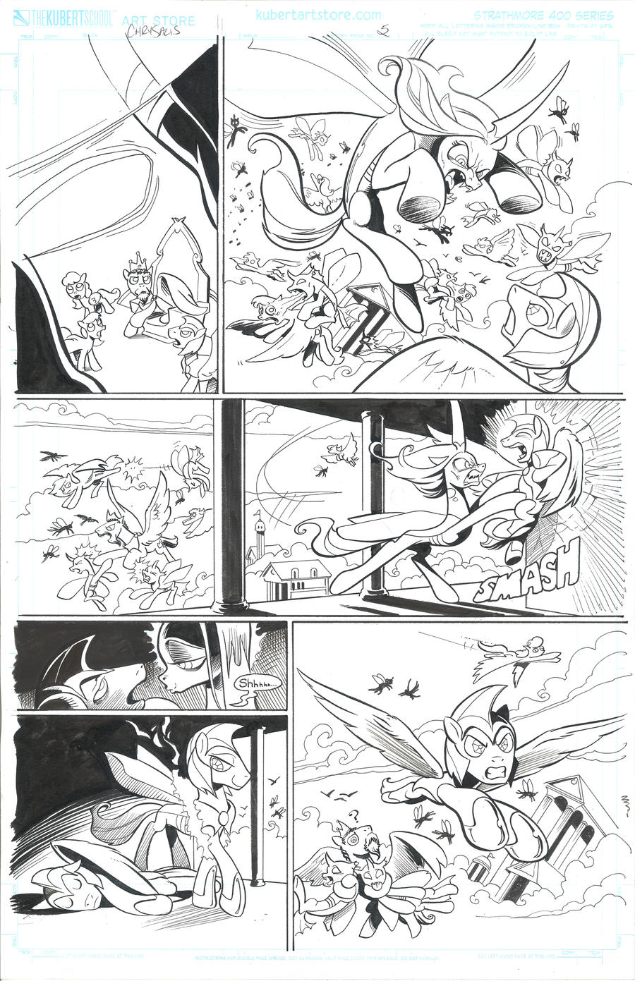 Chrysalis FIENDship is magic page 5