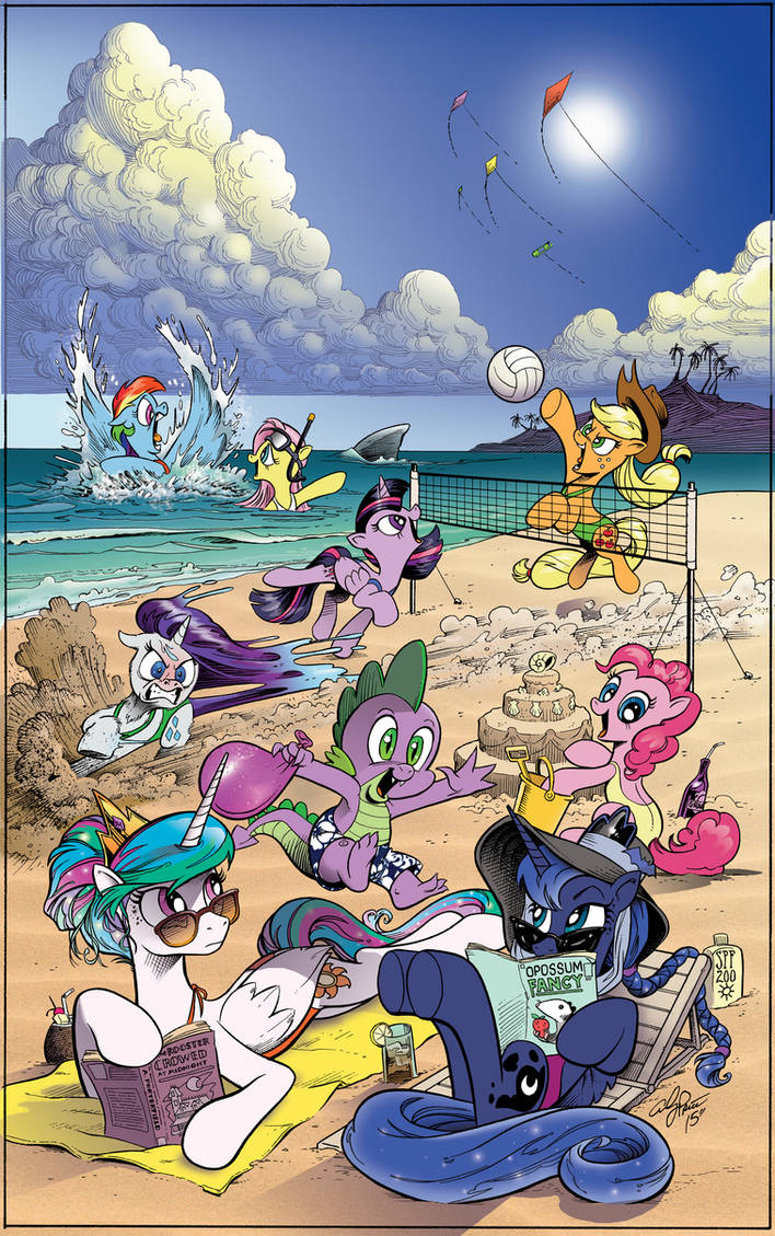 MLP Day at the Beach