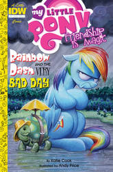 MLP 41 cover: Rainbow Dash and the Very Bad Day