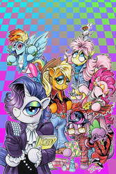 MLP Issue 67 cover: Revenge of the 80's!