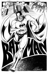 Batman Charity piece by andypriceart