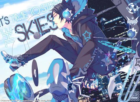 Time to strike the skies