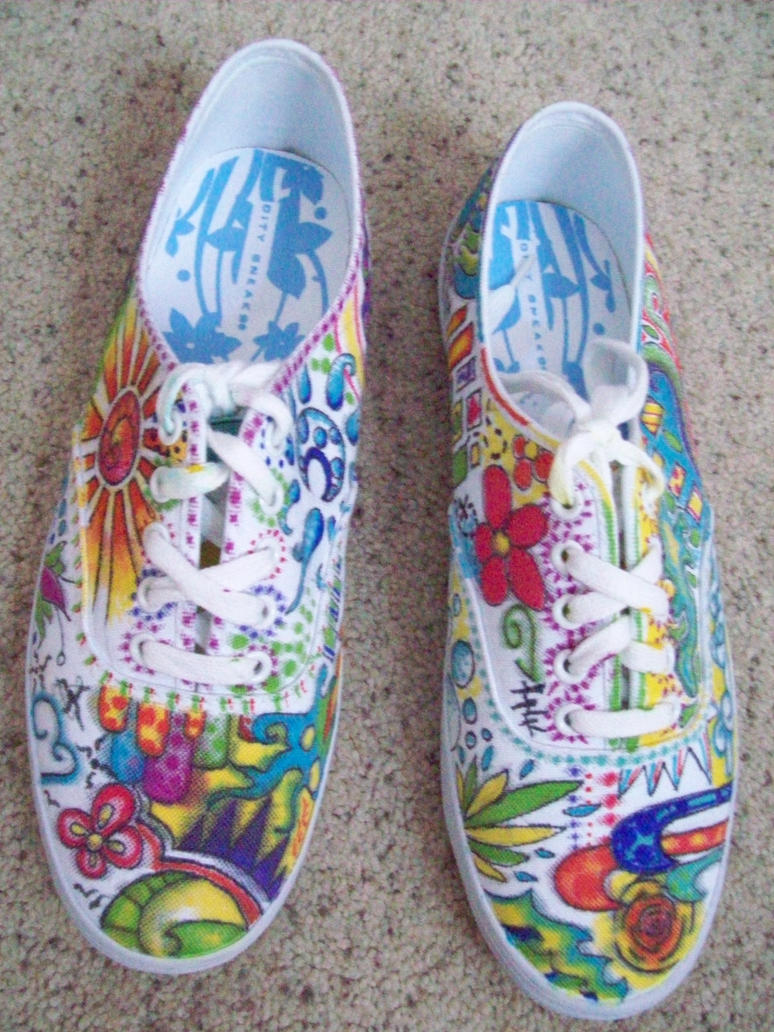 Drawing on Canvas Shoes Guide  Instructablescom