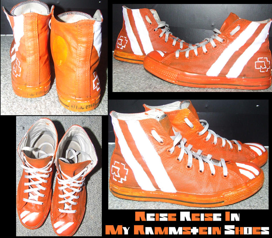 Reise Reise Rammstein Shoes by samisox