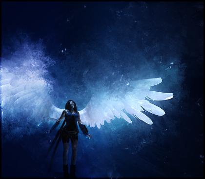 Angel Wing by JulieKrizan