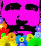 Self Portrait / Flowered Beard