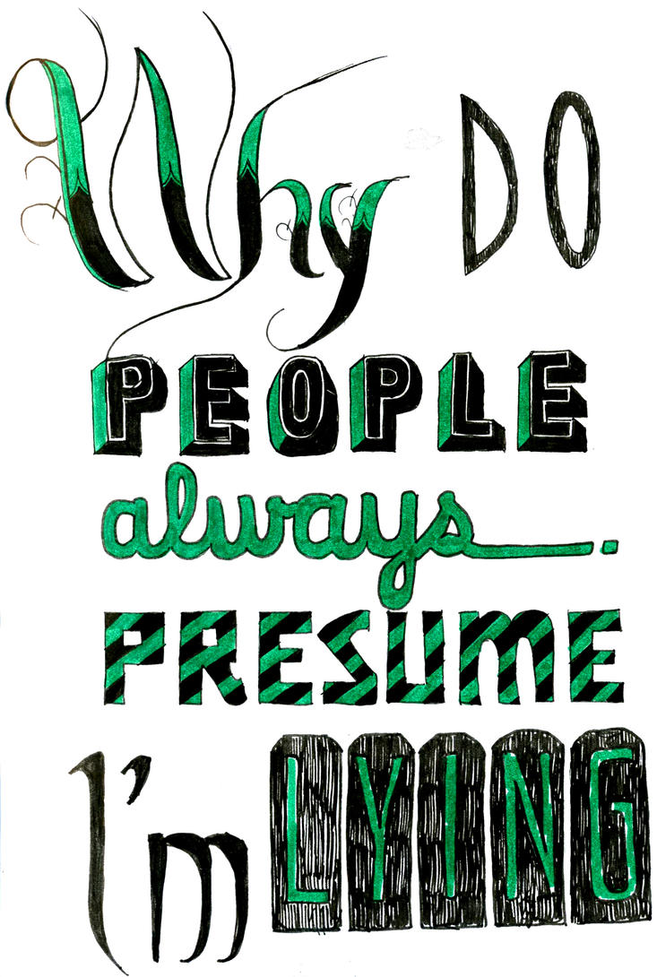 typography exercise 3 by patheticmortal on deviantart