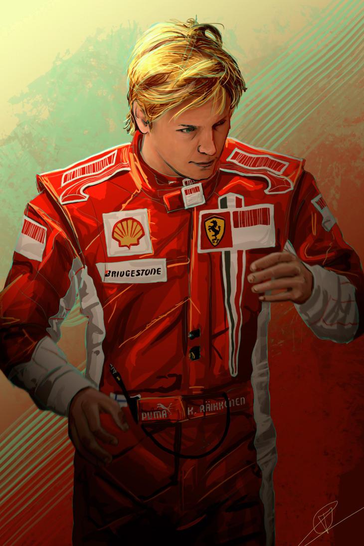 Kimi Raikkonen 2007 by PatheticMortal