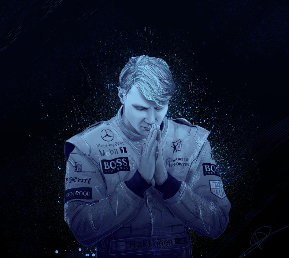 Mika Hakkinen by PatheticMortal