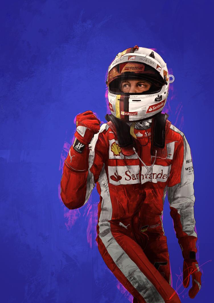 Sebastian Vettel by PatheticMortal