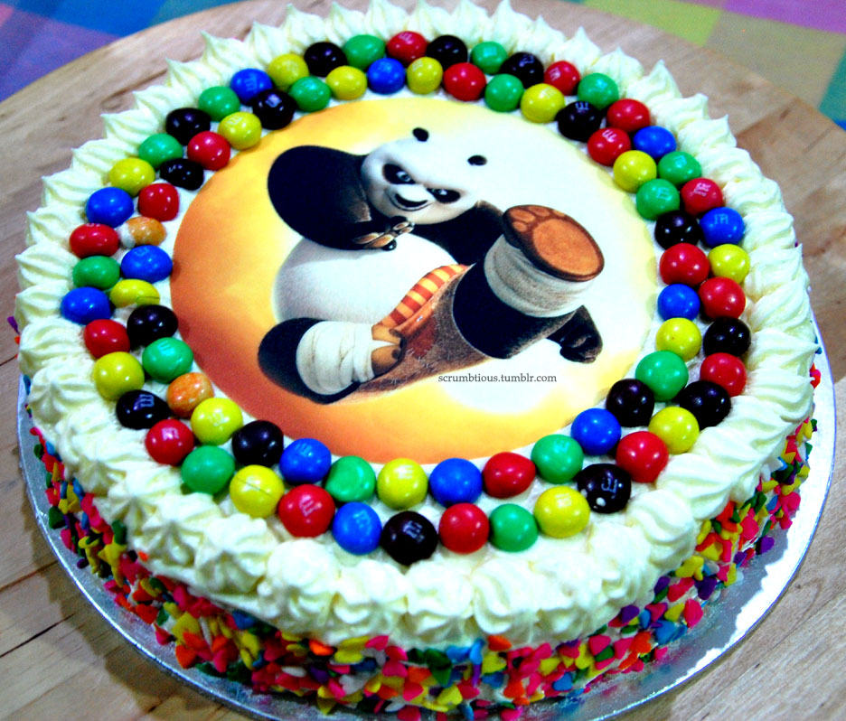 Kung Fu Panda Birthday Cake By Elwira9 On Deviantart