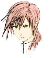 Lightning FFXIII by dillian