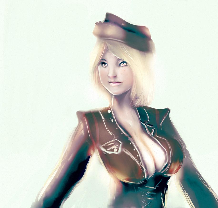 flight attendant by kobolddoido