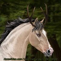 Deerhorn by LRNarts