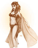 Beach Blanket by InkCell-Illustration