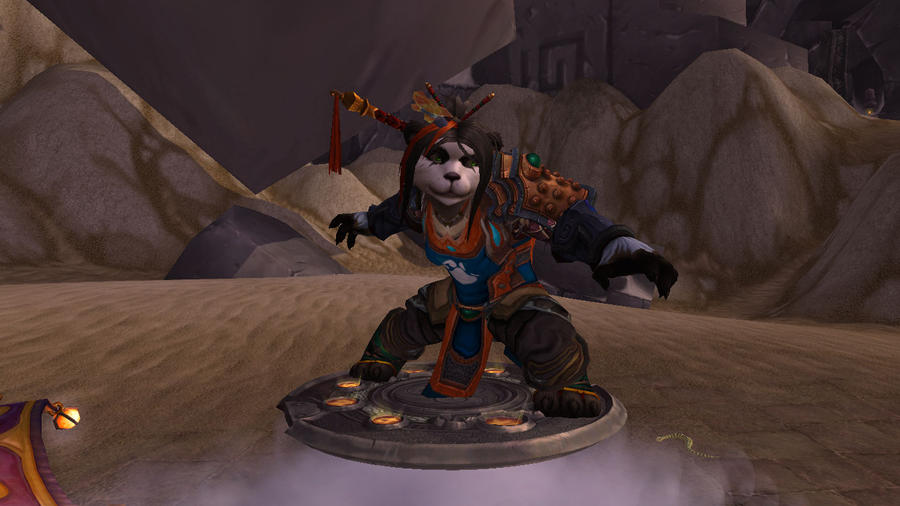 :WoW ScreenSh: :.Panda Warrior.: by IronMeow