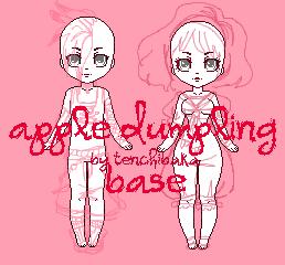 apple dumpling base p2u by tenchibaka