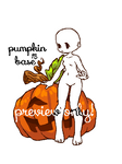 pumpkin adoptable base (open)