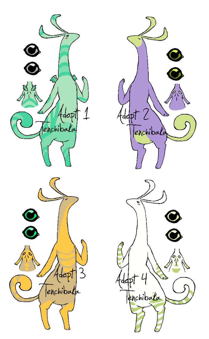 closed species adopts(OPEN!) by tenchibaka