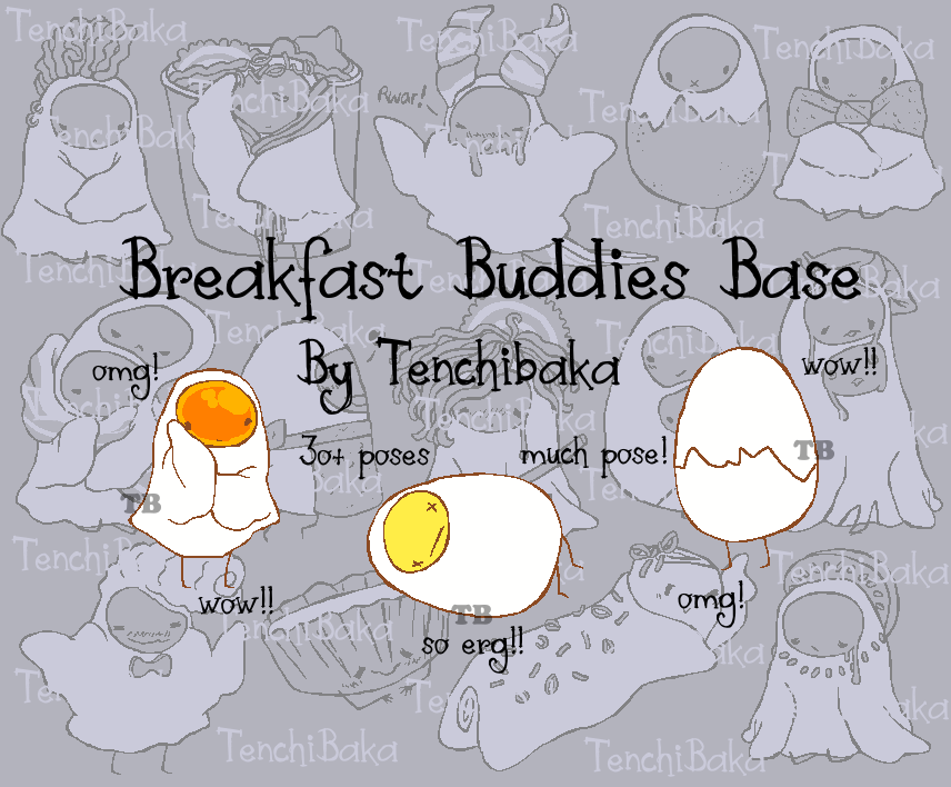 breakfast buddies base PTU OPEN by tenchibaka