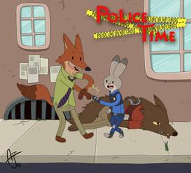 Police Time by AAR0NJAY