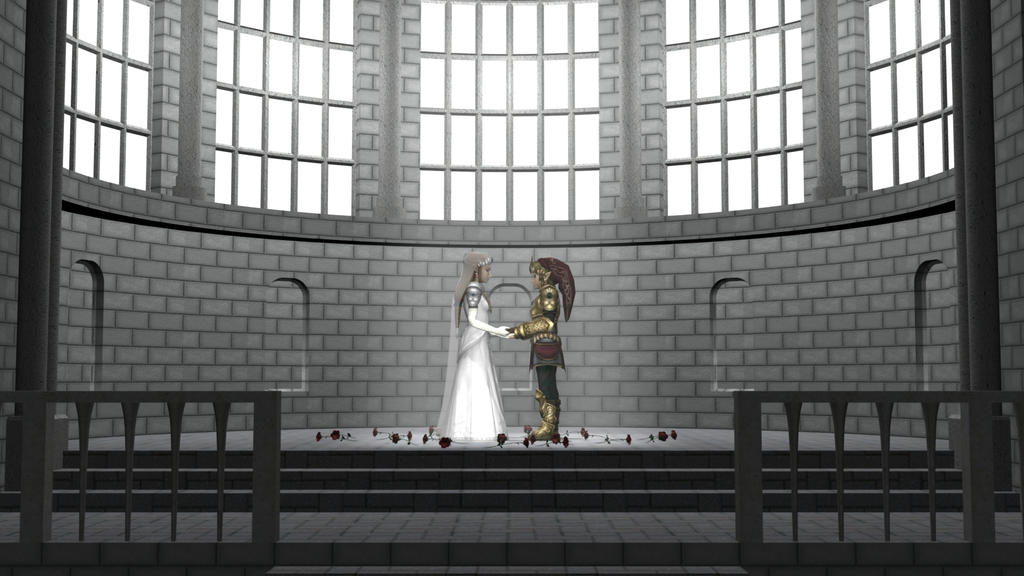 Zelda 39s Wedding 1 of 3 by DarklordIIID on deviantART