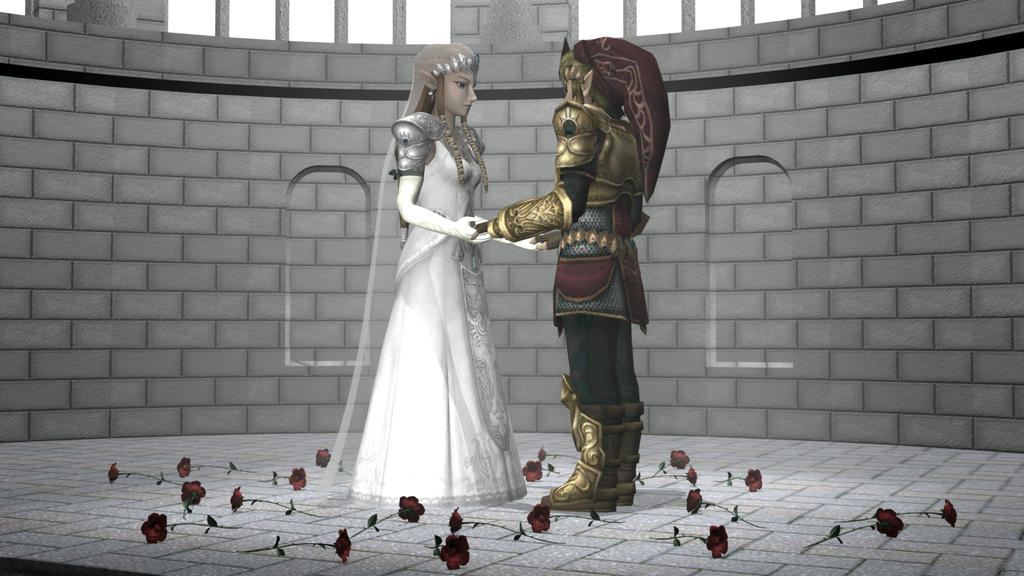 Zelda 39s Wedding 3 of 3 by DarklordIIID on deviantART