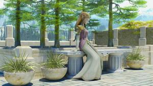 Zelda on the Veranda II
