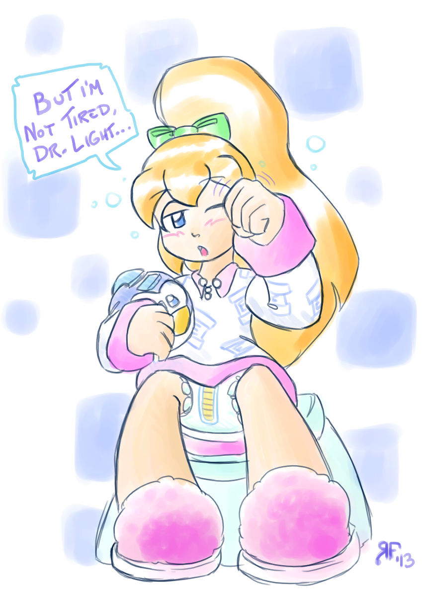Bed Roll-ABDL Fanart by RFSwitched