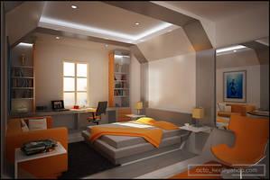 PIK bedroom by kee3d