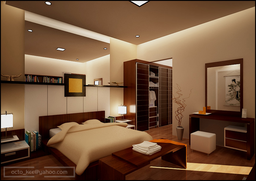 MI-bedroom by kee3d