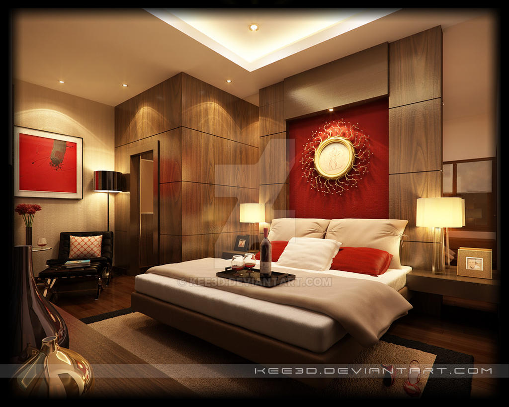 paramount - master bedroom by kee3d