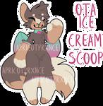 ice cream scoop | OTA [ CLOSED ]