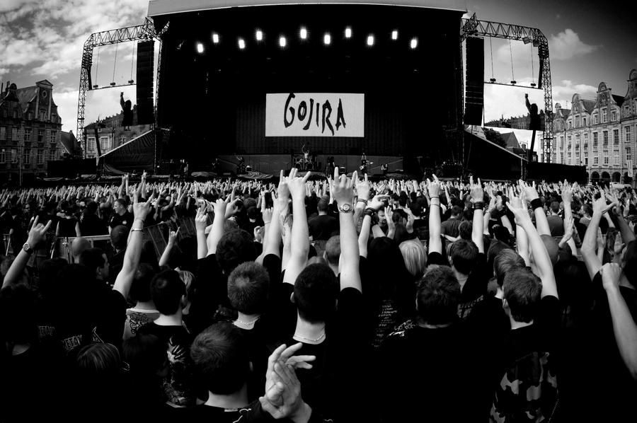 Gojira arras france 8 14 08 by strych9productions on deviantart - Gojira band wallpaper ...
