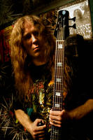 Alex Webster Cannibal Corpse by Strych9Productions