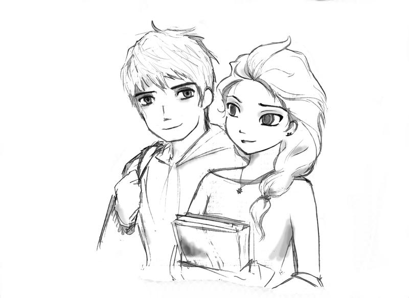 Jack And Elsa By Septyong