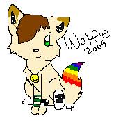 New fursona by Wolfpawz007